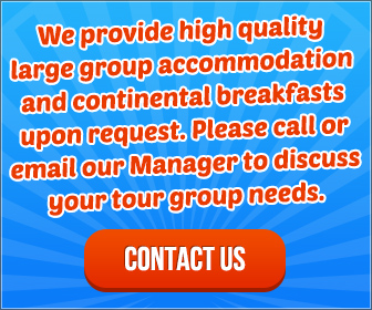 Please call or email our Manager to discuss your tour group needs